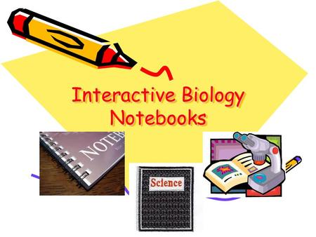 Interactive Biology Notebooks