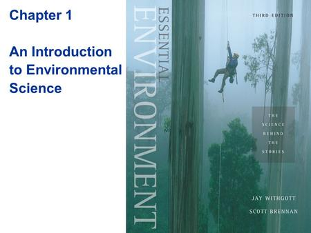 Chapter 1 An Introduction to Environmental Science