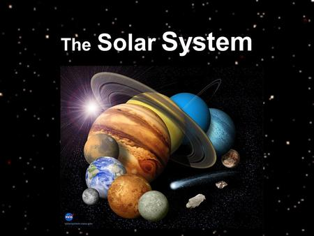 The Solar System. Mercury Mercury fully rotates (One day) once every 58.646 Earth days Mercury Orbits the sun faster than any other planet A full orbit.