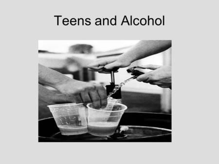 Teens and Alcohol. Statistics Alcohol is the oldest and most widely used psychoactive drug and is legal in most countries. About 113 million Americans.