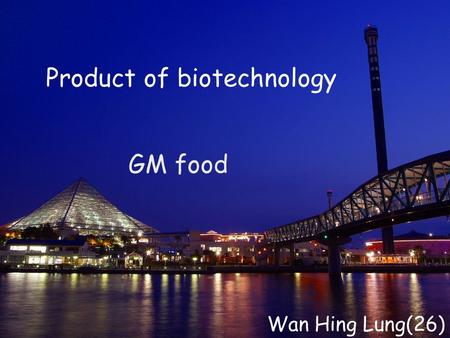 GM food Product of biotechnology Wan Hing Lung(26)