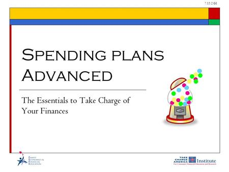7.15.2.G1 The Essentials to Take Charge of Your Finances Spending plans Advanced.