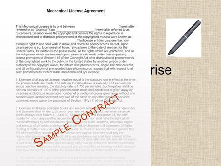 How Contracts Arise Chapter 5 Business Law.