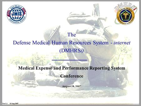 Ver Sep 09 Defense Medical Human Resources System internet