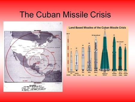 "The Cuban Missile Crisis. The ""Alliance for Progress"" President John F. Kennedy hoped to improve relations with Latin America to prevent the spread of."
