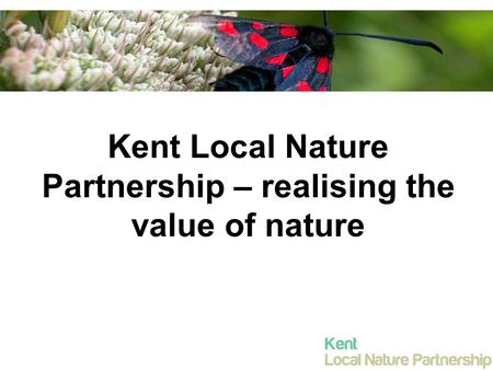 Kent Local Nature Partnership – realising the value of nature.