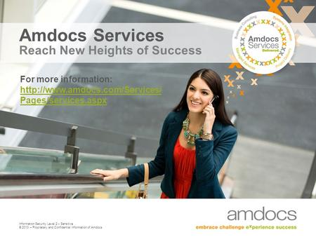 Amdocs Services Reach New Heights of Success