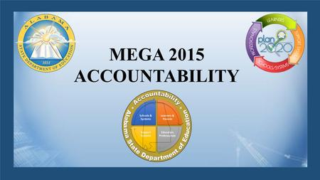 MEGA 2015 ACCOUNTABILITY. MEGA Conference 2015 ACCOUNTABILITY MODEL INFORMATION SUBJECT TO CHANGE The Metamorphosis of Accountability in Alabama.