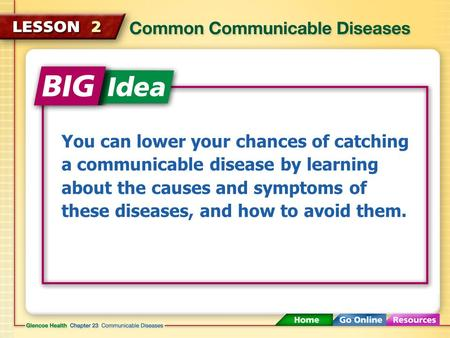 You can lower your chances of catching a communicable disease by learning about the causes and symptoms of these diseases, and how to avoid them.