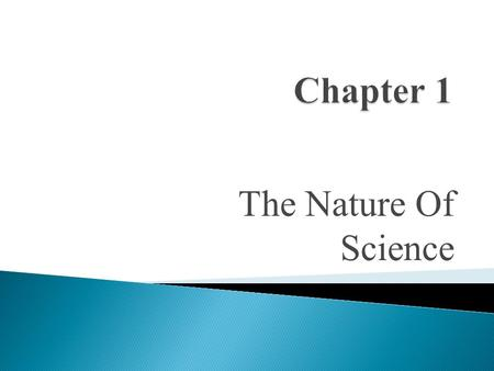The Nature Of Science Communicating In Science  Communication is essential in professional scientific research.  When a scientist develops a theory.