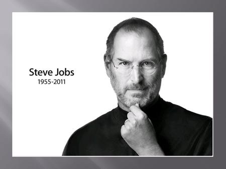 Steve Jobs The Founder Of Apple And Next Ppt Download