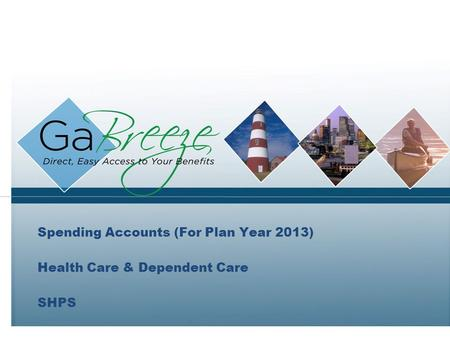 Spending Accounts (For Plan Year 2013) Health Care & Dependent Care SHPS.