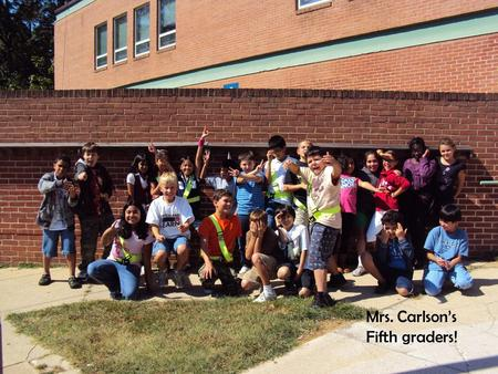 Mrs. Carlson's Fifth graders!. Agenda 1.Daily schedule 2.Science 3.Math 4.Language arts 5.Social Studies 6.SOL testing dates 7.Homework and Grading.