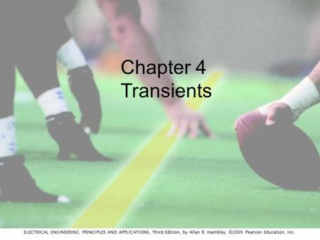 Chapter 4 Transients.
