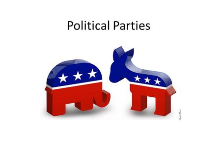 Political Parties. A political party is an organization that seeks power and influence.