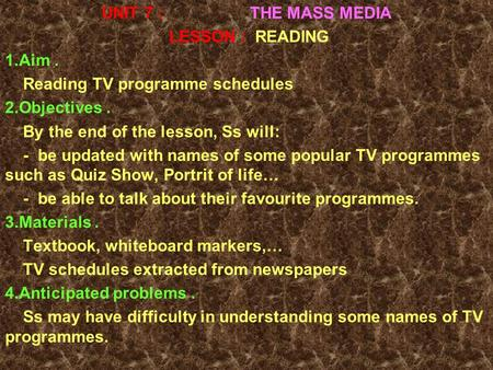 Pros and cons of mass media essay