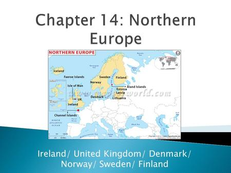 Chapter 14: Northern Europe