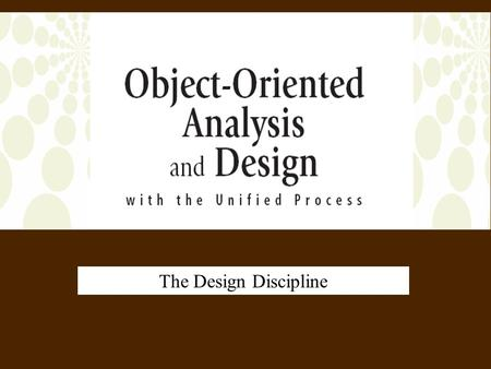 Object Oriented Analysis And Design By Ali Bahrami Pdf