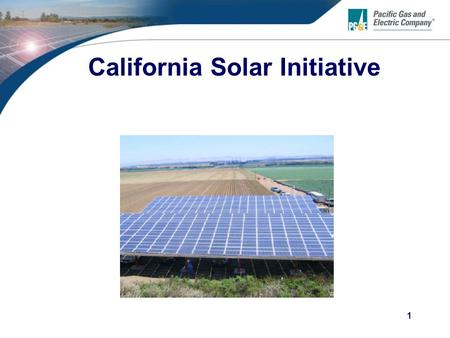 1 California Solar Initiative. 2 Content  Overview of CSI  What's New  CSI Status Update  CSI Field Inspection Process  CSI <strong>Metering</strong>  CSI Application.