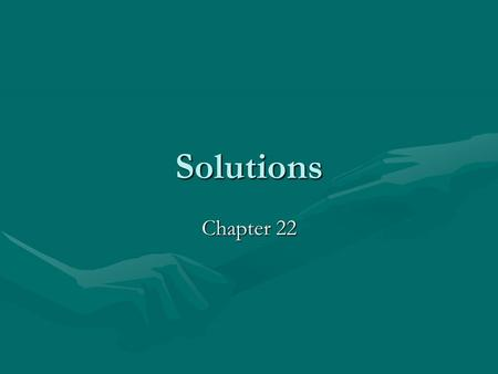 Solutions Chapter 22.
