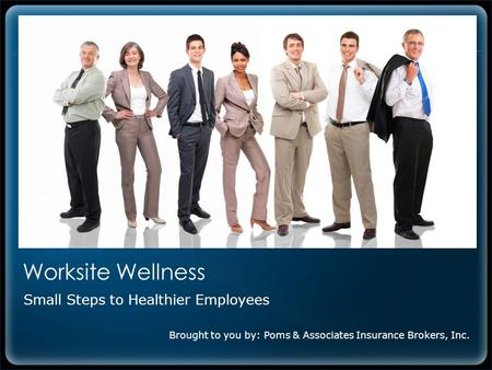 Small Steps to Healthier Employees
