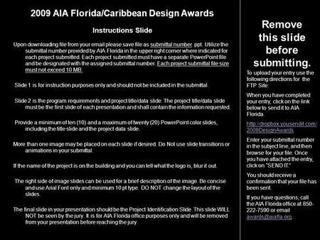 2014 Aia Jacksonville Design Awards Test Of Time Award