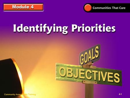 Community Assessment Training 3- Click to edit Master title style Community Assessment Training 4-1.
