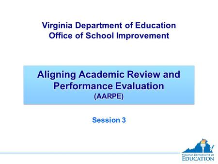 Aligning Academic Review and Performance Evaluation (AARPE)