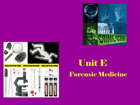 College study forensic ballistics