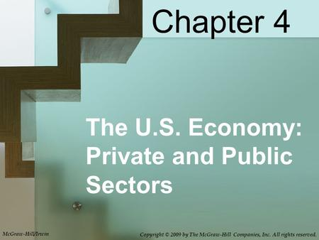 The U.S. Economy: Private and Public Sectors Chapter 4 McGraw-Hill/Irwin Copyright © 2009 by The McGraw-Hill Companies, Inc. All rights reserved.