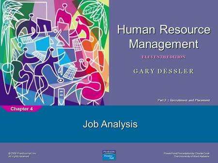 Job Analysis Chapter 4 Part 2 | Recruitment and Placement