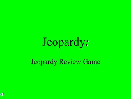 : Jeopardy: Jeopardy Review Game. $2 $3 $4 $5 $1 $2 $3 $4 $5 $1 $2 $3 $4 $5 $1 $2 $3 $4 $5 $1 $2 $3 $4 $5 $1 Federalist v. Demo-Rep Election 1800 Marbury.