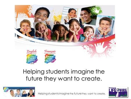 Helping students imagine the future they want to create. Helping students imagine the future they want to create.