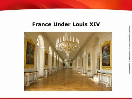 TEKS 8C: Calculate percent composition and empirical and molecular formulas. France Under Louis XIV.