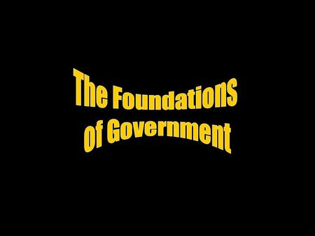 What is Government? Government is how society chooses people to make and enforce its public policies. So what are public policies? Public policies are.