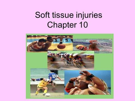 "Soft tissue injuries Chapter 10. 3 layers of the skin 1. Epidermis-outer layer that is a barrier to infection ""Superficial"" 2. Dermis- middle layer that."