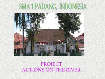 The picture is one of the rivers in Padang, located in GOR. The water color has changed Check it out what we have found in there.