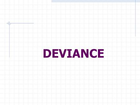 DEVIANCE. What is it??? The recognized violation of cultural norms. Behavior Beliefs Conditions.