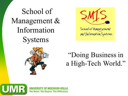 School of Management & Information Systems