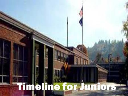 Jane Brillhart, Special Agent Jane Brillhart, Special Agent (503) 528-3336 Timeline for Juniors.