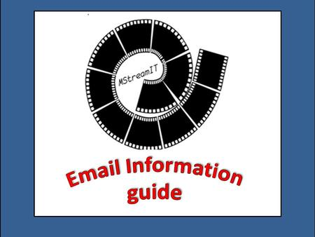 Email Information guide.