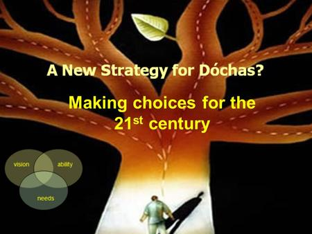 1 Making choices for the 21 st century. A new strategy: What is needed? 2 Any new strategy should be based on: an understanding of key strategic challenges;