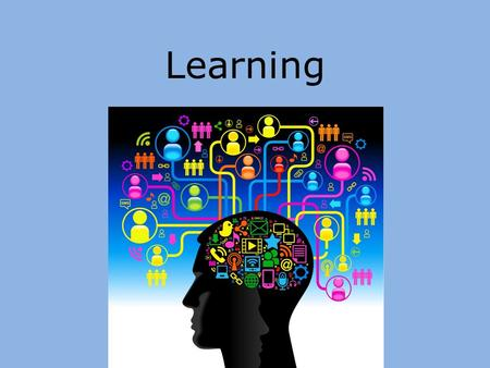 Learning. What is Learning? The process of acquiring new and relatively enduring information Any relatively permanent change in behavior brought about.