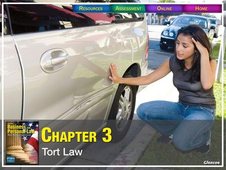 Section 3.1 Definition of a Tort. Section 3.1 Definition of a Tort.