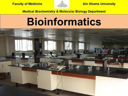 Bioinformatics.