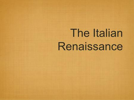 The Italian Renaissance. Unit Concepts 1. Renaissance art was a rebirth of Greco-Roman styles. 2. It a) brought monumentality to art, B) placed importance.