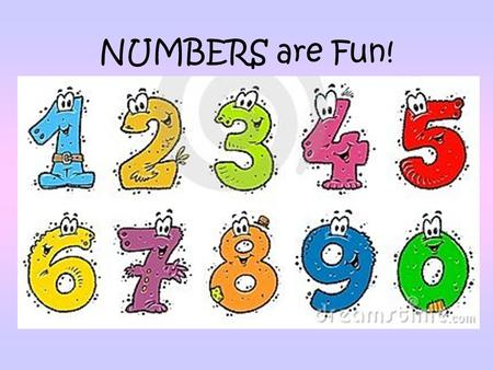 NUMBERS are Fun!.