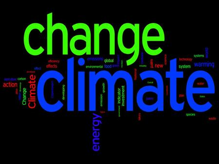 CLIMATE CHANGE. OBJECTIVES: Define climate change Explain the impact of methane production on climate change Identify various methane emission sources.