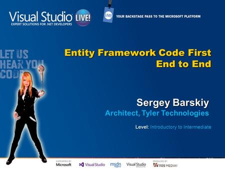 Entity Framework Code First End to End