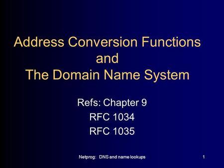 Rfc 1035 Pdf